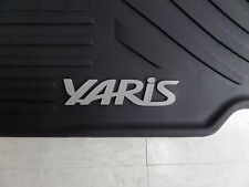 Genuine Toyota Yaris 2012 - 2014 Factory All Weather Floor Mats Genuine OEM