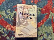 Pentrex Mainline U.S.A. VHS 1989 Clamshell Case Railroads Trains Very Good