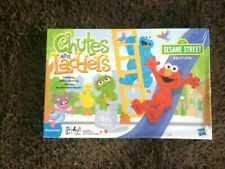2011- Chutes and Ladders Sesame Street Replacemet Parts Pieces Pawns Spinner