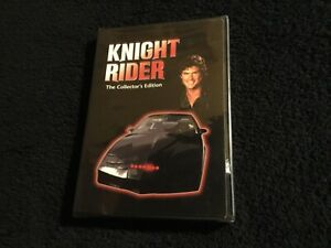 KNIGHT RIDER The Collector's Edition DVD (NEW) - Deadly Maneuvers and Slammin'