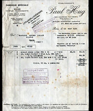 """PARIS (XII°) SCIES & OUTILS tranchants """"Paul HUG"""" en 1931"""