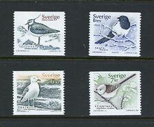 X552  Sweden  2001   birds   4v.    MNH