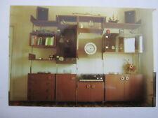 vintage retro 5 bay wall shelving display unit like ladderax