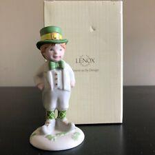 Lenox Leprechaun Boy St Patricks Day Irish Pride Porcelain Figurines New 829513