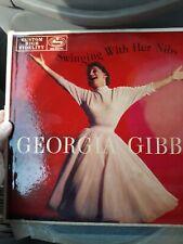 Georgia Gibbs Singing With Her Nibs Vinyl Record