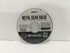 Metal Gear Solid Twin Snakes Nintendo GameCube  game disc 2 only tested works