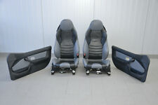 BMW Z3 M- Roadster Sitze Leder Innenausstattung Grau/schwarz Seat Interior