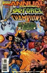 X-FORCE/CHAMPIONS Annual 1998 - Back Issue