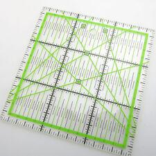 Acrylic Quilting Ruler Supplies 15*15cm Tool Transparent Cutting Useful