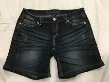(*.*) ARIYA  * Womens Blue Jean / Denim Shorts * Juniors Size 11 / 12