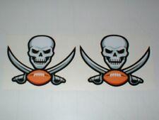 NFL TAMPA BAY BUCCANEERS MINI SIZE FOOTBALL HELMET DECALS