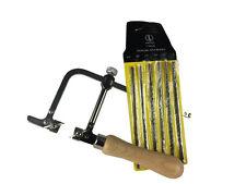 Set of 144 Asstd Saw Blades Grade 4/0 3/0 2/0 1/0 1 2 & Piercing Saw Frame J1439