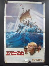 ''The Last Flight of Noah's Ark'' Spanish1 Sheet El Ultimo Vuelo Del Arca De Noe