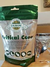 Oxbow Critical Care 20g Sachet for all herbivores