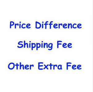 Price Difference For Customized Order  in Our Store WKL
