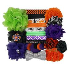 Halloween Spooktacular - Mini DIY Headband Kit - 8 Bands - Baby Shower Birthday