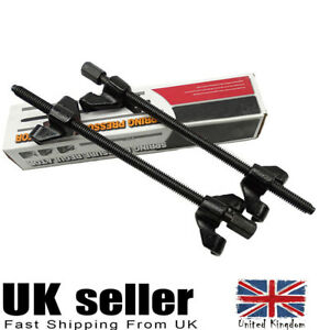 Coil Spring Compressor Heavy Duty Pair of Suspension Clamps Tool Kit For Car