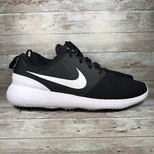 Nike Roshe G Golf Shoes Black/White Aa1837-001 Men's Size 8