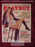 PLAYBOY May 2006 College Girls Alison Waite Rachel Sterling Rebecca Romijn