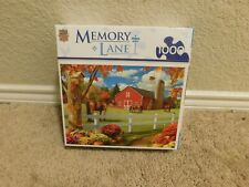 New Master Pieces Memory Lane Pastures of Chance 1000 piece jigsaw puzzle