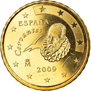 [#819740] Espagne, 10 Euro Cent, 2009, Madrid, FDC, Laiton, KM:1070