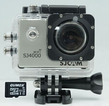 SJCAM WIFI SJ4000 Silver Action Sport Camera Waterproof HD 1080p + 32GB MicroSD