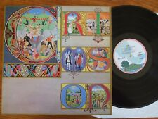 VINYL LP KING CRIMSON LIZARD UK 1970 ISLAND PINK RIM PALM TREE ILPS 9141 A2B2 EX