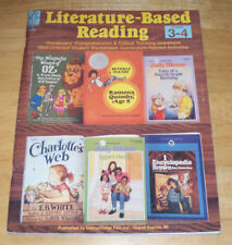 Literature Based Reading Literature Unit Guide Workbook Instructional Fair