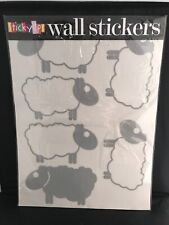 18 Large Sheep Wall Stickers