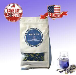 ✔ TikTok BUTTERFLY PEA FLOWER Healthy Blue Dried Herbal Tea FREE SHIP U.S