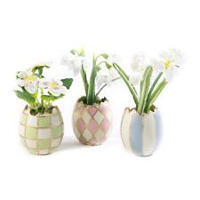 MacKenzie-Childs Pastel Egg Bouquet - Set of 3