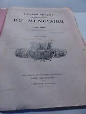 LEON Jamin - L'enseignement Professionnel DU MENUISIER - 18xx ?