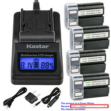Kastar Battery LCD Fast Charger for Nikon EN-EL1 MH53 Nikon Coolpix 4500 Camera