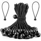 HOZEON 70 Pack 9.4 inches Premium Ball Bungee Strong and Durable Ball Bungee ...