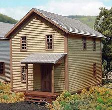 COMPANY HOUSE #1 HO Historic Model Railroad Structure Unpainted Laser Kit LA605