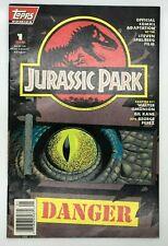 JURASSIC PARK #1 TOPPS 1993  MODERN AGE COMIC DANGER!