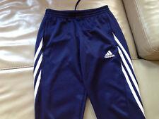 Pantalon d'entrainement *ADIDAS, *Nike, bleu foncé, 10 ans.