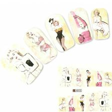 Nagel Sticker Aufkleber Marilyn Monroe Nail Art Nägel Fuß Water Decal