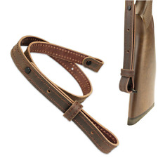 Hunting Rifle Gun Sling Genuine Leather Rifle Sling Adjustable Tactical Strap