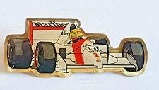 KLEINER F1 SENNA PIN MARLBORO MC LAREN #2 PIN FORMEL 1