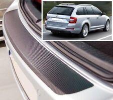 Skoda Octavia MK3 Estate - Carbon Style rear Bumper Protector