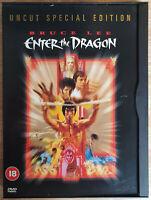 Bruce Lee Enter the Dragon DVD Neuwertig Like New Uncut Special Edition English