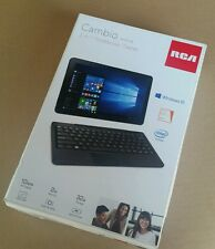 Brand New 10 inch RCA Cambio 2 - in - 1 Notebook / Tablet W1013 DK
