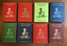 Lot 8 Vintage Platt & Munk UNCLE WIGGILY Howard Garis books Jackie Peetie Farm