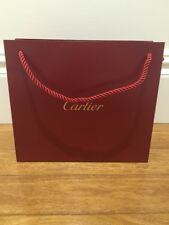 NEW Authentic CARTIER paper shopping bag ~ FASHION BLOGGER