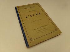 Géographie de l'Aube  14 Gravures & Carte  1874  A.Joanne Livre