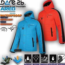 Mens Waterproof Jacket Hiking Outdoor Padded Ski Snow Raincoat Hoodie Top Outdon