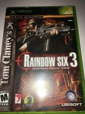 Tom Clancy's Rainbow Six 3 (Microsoft Xbox, 2003)-Tested-Rare -Ships In 24 Hours