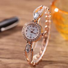 Women Fashion Brand Ladies Quartz Watch Stainless Steel Rhinestone Wrist Watches