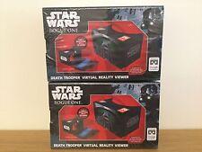 Star Wars Rogue una muerte Trooper Visor de realidad virtual X 2